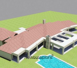 House plans Traditional style home design, 4 bedroom, single storey floor plans, enchanting 4 bedroom Bali style house plans Nethouseplans