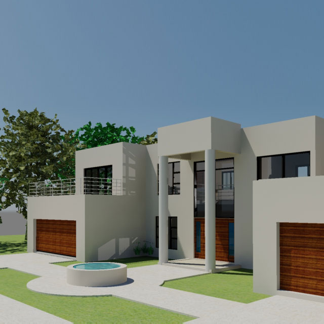 Double Storey House Plan South African 4 Bedroom House Nethouseplansnethouseplans