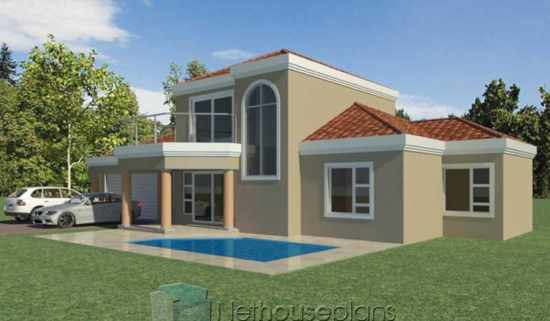3 Bedroom Double Storey | South African House Plans ...