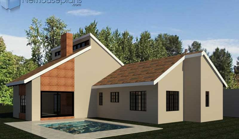 3 Bedroom House Plan South African House Designs Nethouseplansnethouseplans