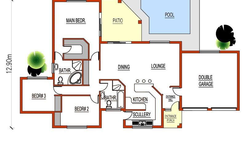 3 Bedroom House Plans With Garage House Designs Nethouseplansnethouseplans,Home Design Credit Card
