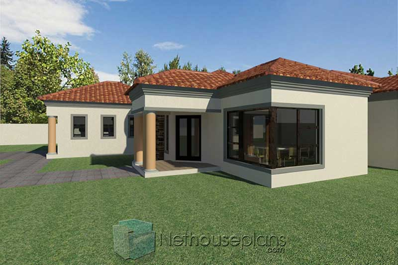 3 Bedroom House Plans South Africa House Designs Nethouseplansnethouseplans