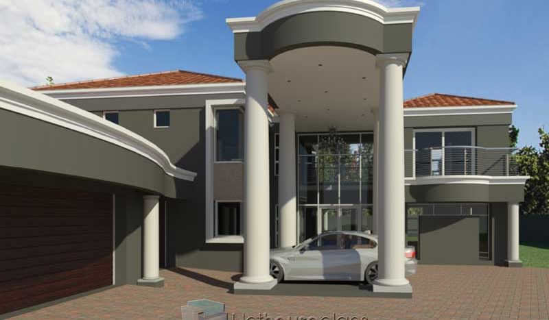 Double Story House Plans | 5 Bedroom Home Design ...