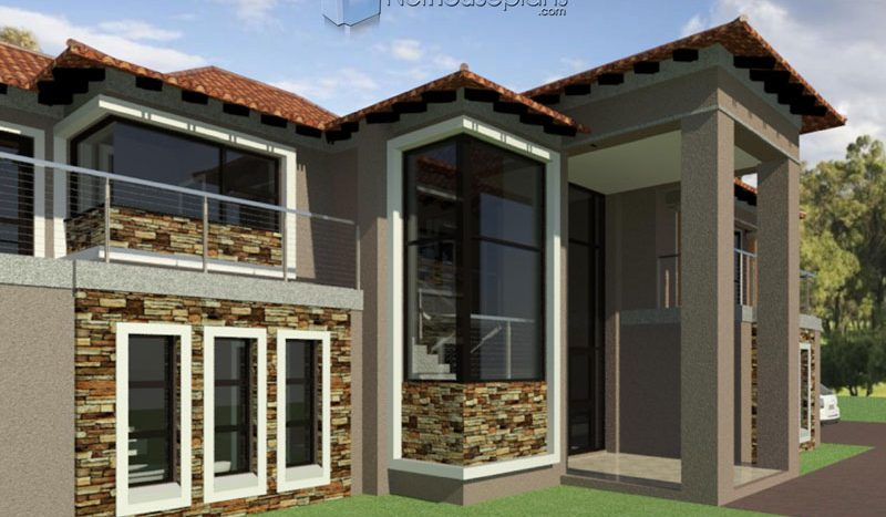 4 bedroom house plans free pdf download modern house plans free modern house plans free download double story modern 4 bedroom house plans for sale free house plans pdf download modern house designs Double story 4 bedroom house plans with double garages House plans South Africa Nethouseplans