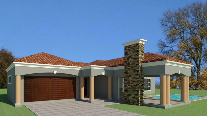 unique 3 bedroom house plans South AFrica