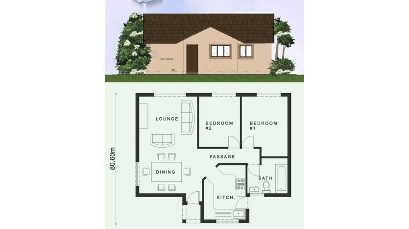 2 Room House Plans Low Cost 2 Bedroom House Plan Nethouseplansnethouseplans,When Is The Best Time To Rent An Apartment In Los Angeles