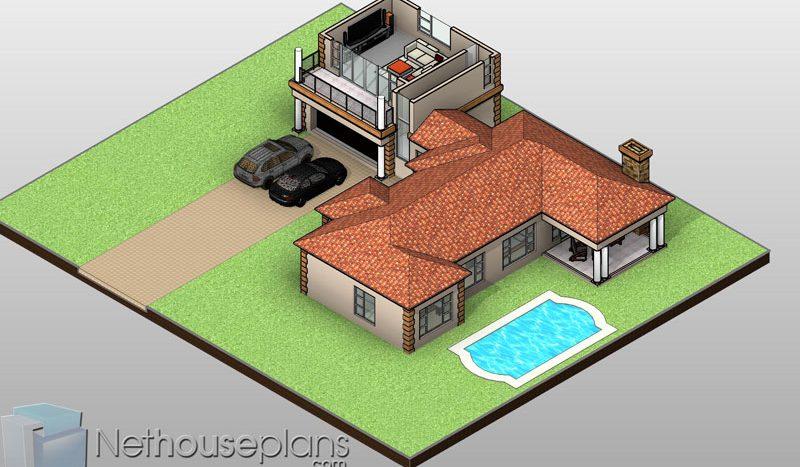 House Plans South Africa Pdf Double Storey 251m2 Nethouseplansnethouseplans