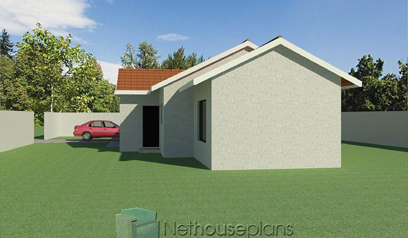 narrow-lot house plans small house designs Nethouseplans