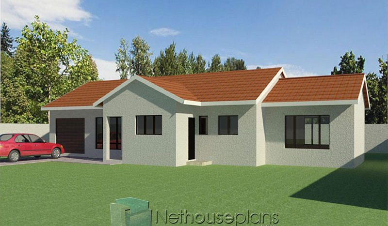 Single storey house plans Kasi house plans for sale in Gauteng Nethouseplans