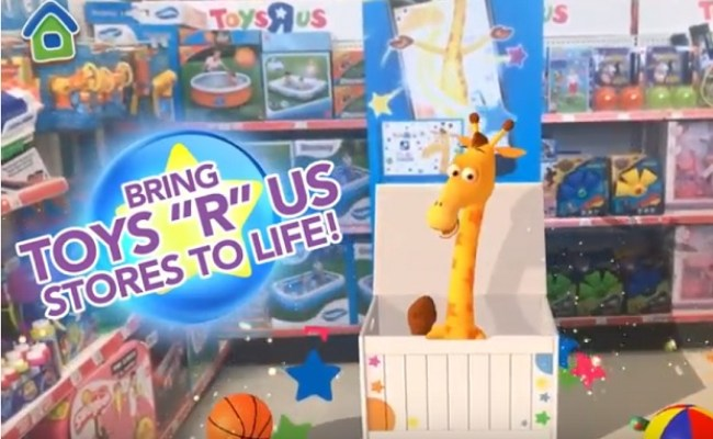 Toys R Us Woos Back Shoppers With Augmented Reality In