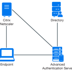 Citrix Netscaler Diagram Wiring Manual Call Point Configuring Integration With Advanced The Following Represents Authentication In