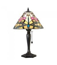 Ashton Small Tiffany Style Table Lamp - Interiors 1900 69324