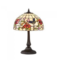 Butterfly Small Tiffany Style Table Lamp - Interiors 1900 ...