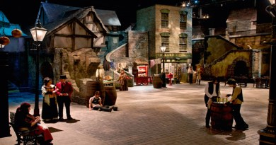Dickens World in England