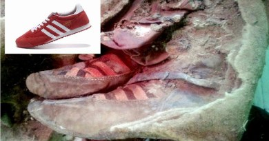 1500 years Mummy found wearing Adidas shoes- Netmarkers