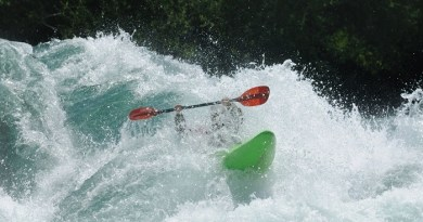 Kayaking in Chile-Netmarkers