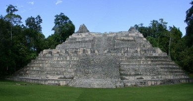 Caracol, Belize-Netmarkers