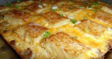 Cheesy Sausage Casserole-Netmarkers