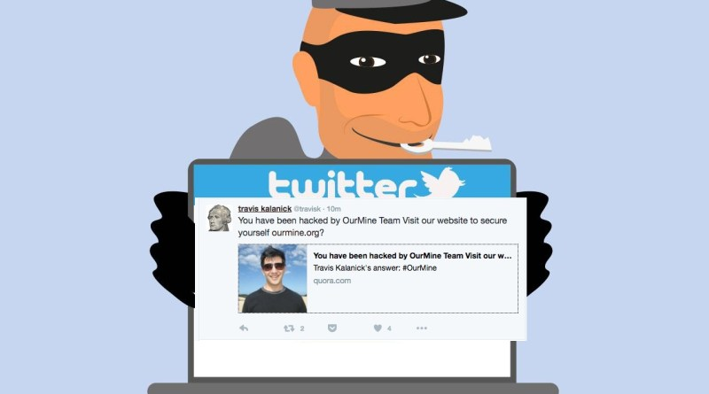 Twitter account of Uber CEO hacked by OurMine -Netmarkers