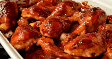 Oven Baked BBQ Chicken-Netmarkers