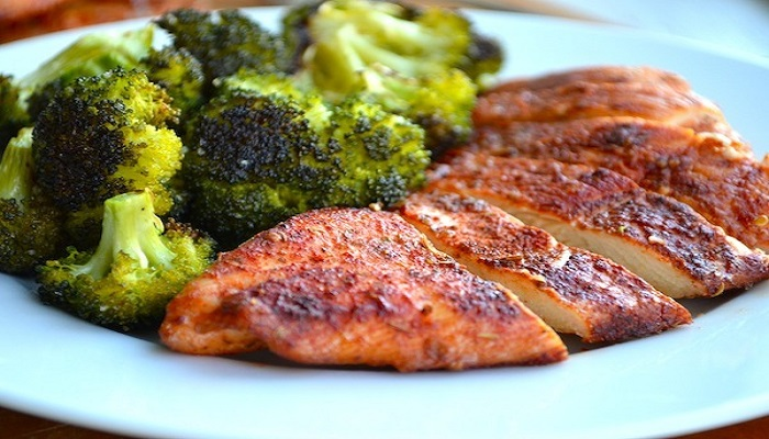Roasted Chicken Bake and Broccoli-Netmarkers
