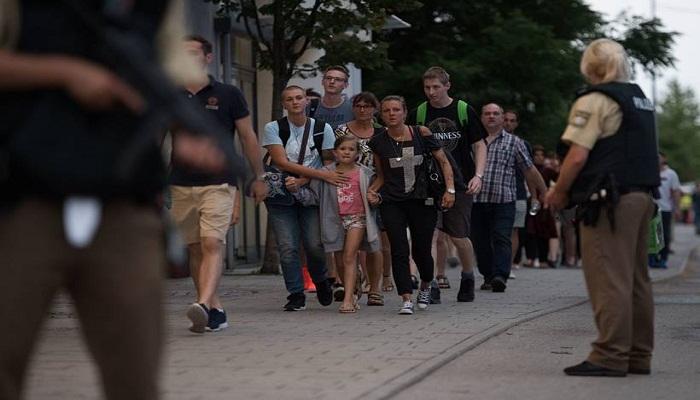 Germany Munich Shooting-Netmarkers