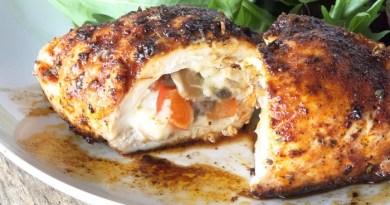 Cajun-Stuffed Chicken Recipe-Netmarkers