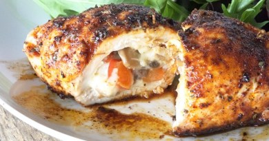 Cajun-Stuffed Chicken Recipe-Netmarkers