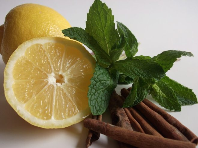 Lemon-mint-home remedies for beards-Netmarkers
