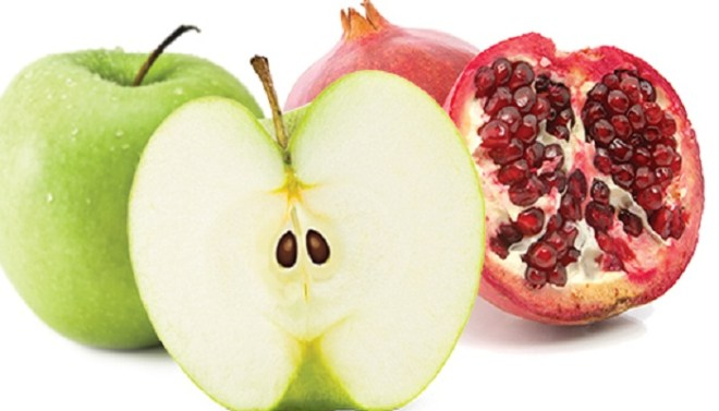 apple-pomegranate-low sugar fruits-Netmarkers