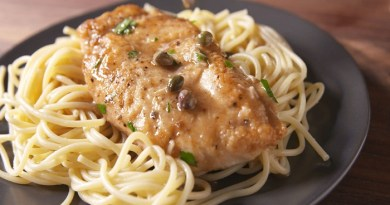 Chicken Piccata Pasta-Netmarkers