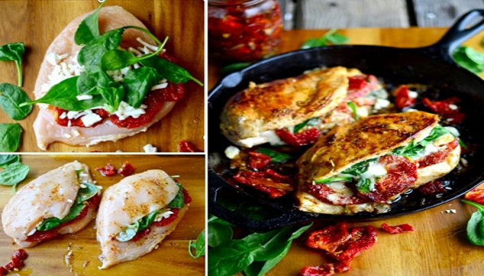 Sundried-Spinach-Tomato-and-Cheese-Stuffed-Chicken--Netmarkers