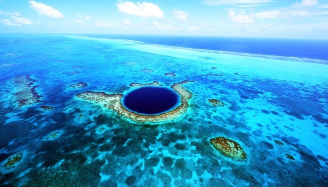 1. Belize's Great Blue Hole - netmarkers