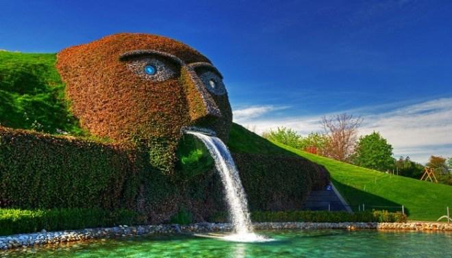 Swarovski fountain, Austria netmarkers