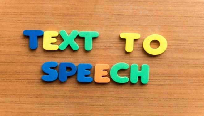 Text-to-speech netmarkers