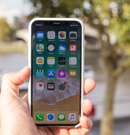 Apple iPhone X-netmarkers