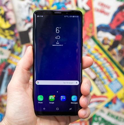 Samsung Galaxy S9+-netmarkers