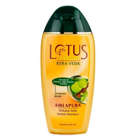 Image result for Lotus Herbals Kera Veda Shikakai-Amla Herbal Shampoo