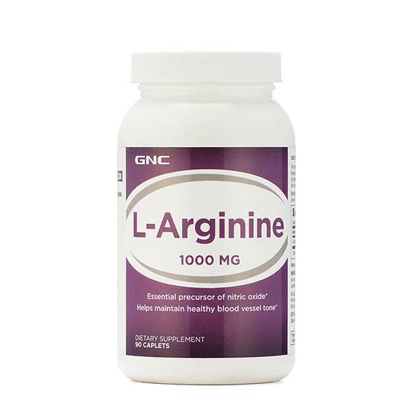 Buy GNC L-Arginine 1000 mg Caplets 90's online at best price-Sports Supplements
