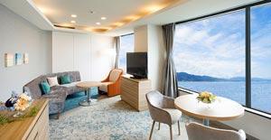 大津プリンスホテル客室