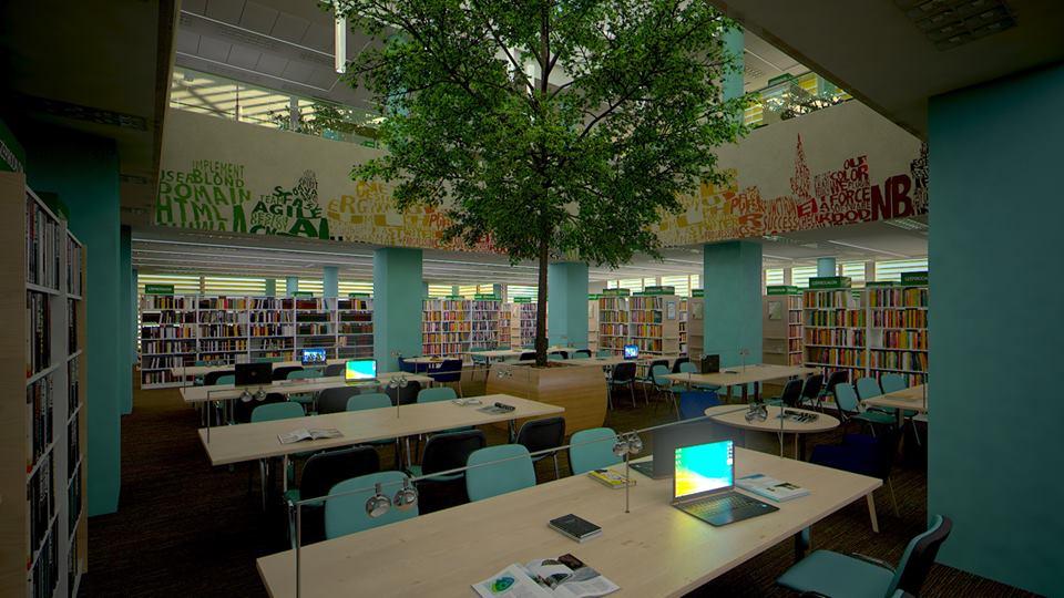 Költözés és felújítás előtt központi könyvtárunk