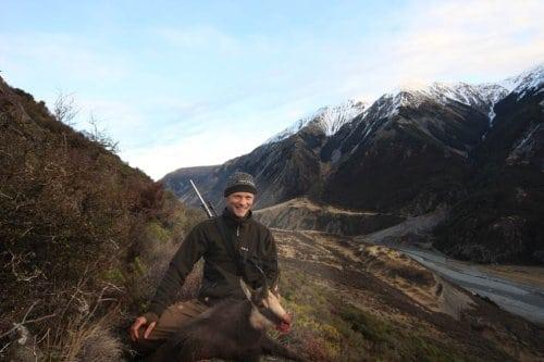 Jagt i Poulter River