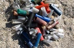 Strandjægernes affald