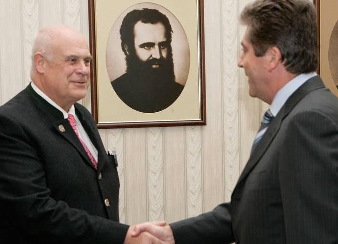 Bulgarien inde i varmen hos CIC