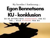 EGON BENNETSENS KU – KONKLUSION