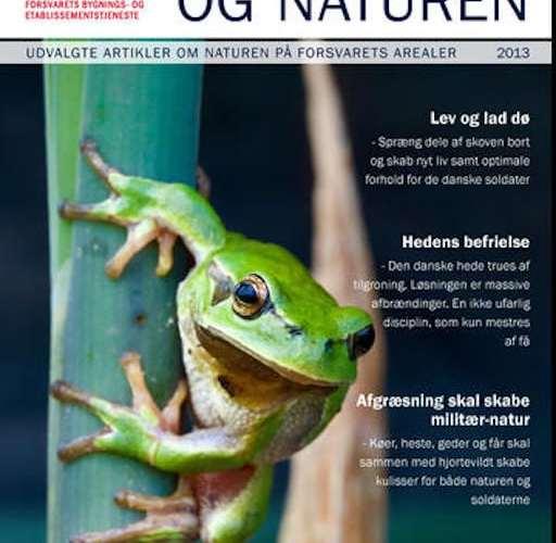 """""""Forsvaret og naturen"""" kan nu hentes gratis til tablets"""