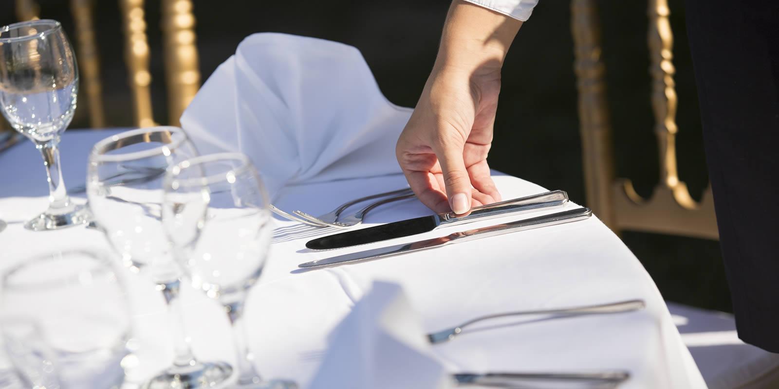 Tisch richtig decken Tipps fr den perfekt eingedeckten Tisch