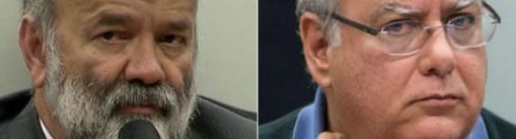 Vaccari e Duque foram condenados nesta segunda-feira (21) em ação penal referente à 10ª fase da Operação Lava Jato (Foto: Rede Globo; Marcelo Camargo/Agência Brasi)
