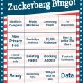 Zuckerberg Bingo