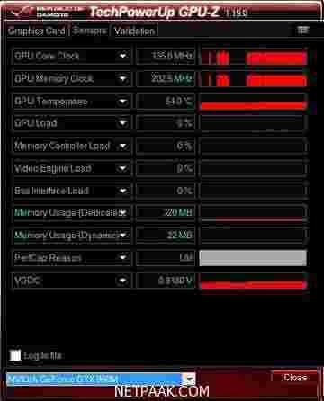 GPU-Z v2.9.0 + ASUS ROG Skin - نرم افزار بررسی تخصصی کارت گرافیک + ایسوز و جی پی یو زد - نت پاک